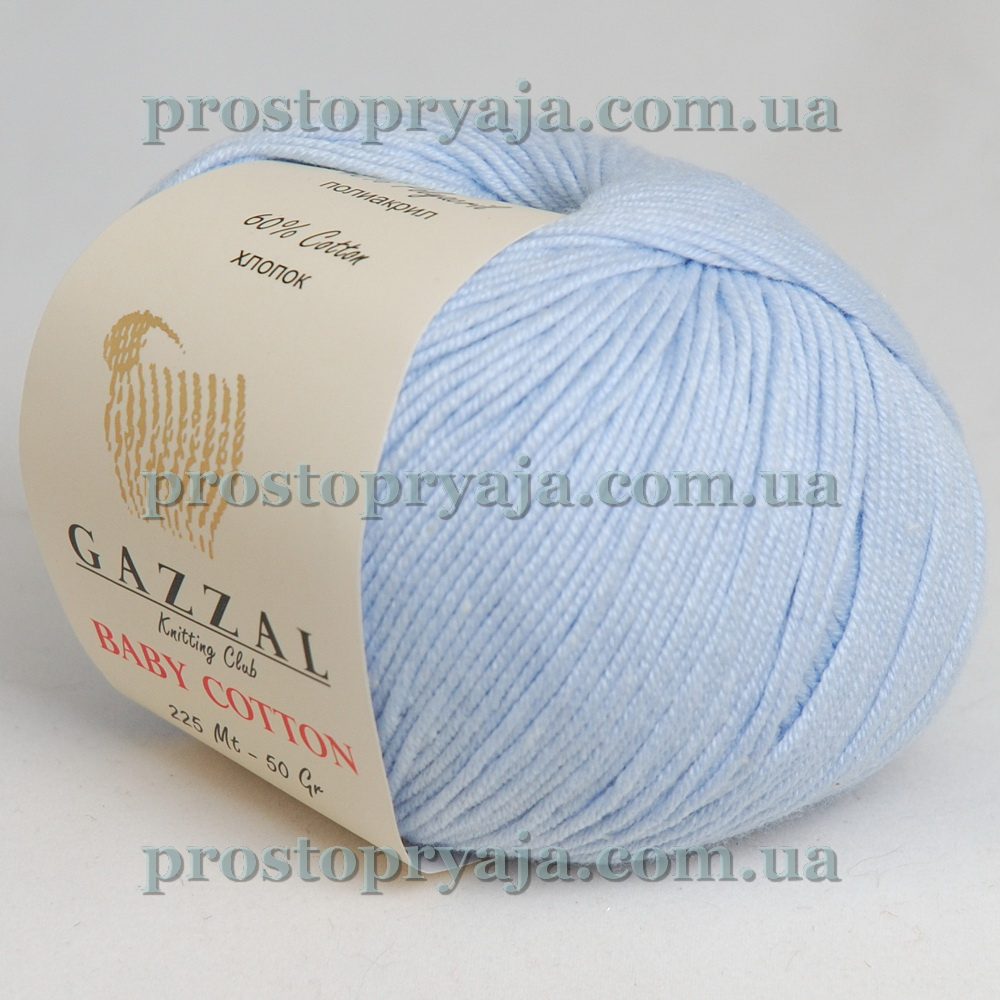 Gazzal Baby Cotton интернет магазин пряжи для вязания просто