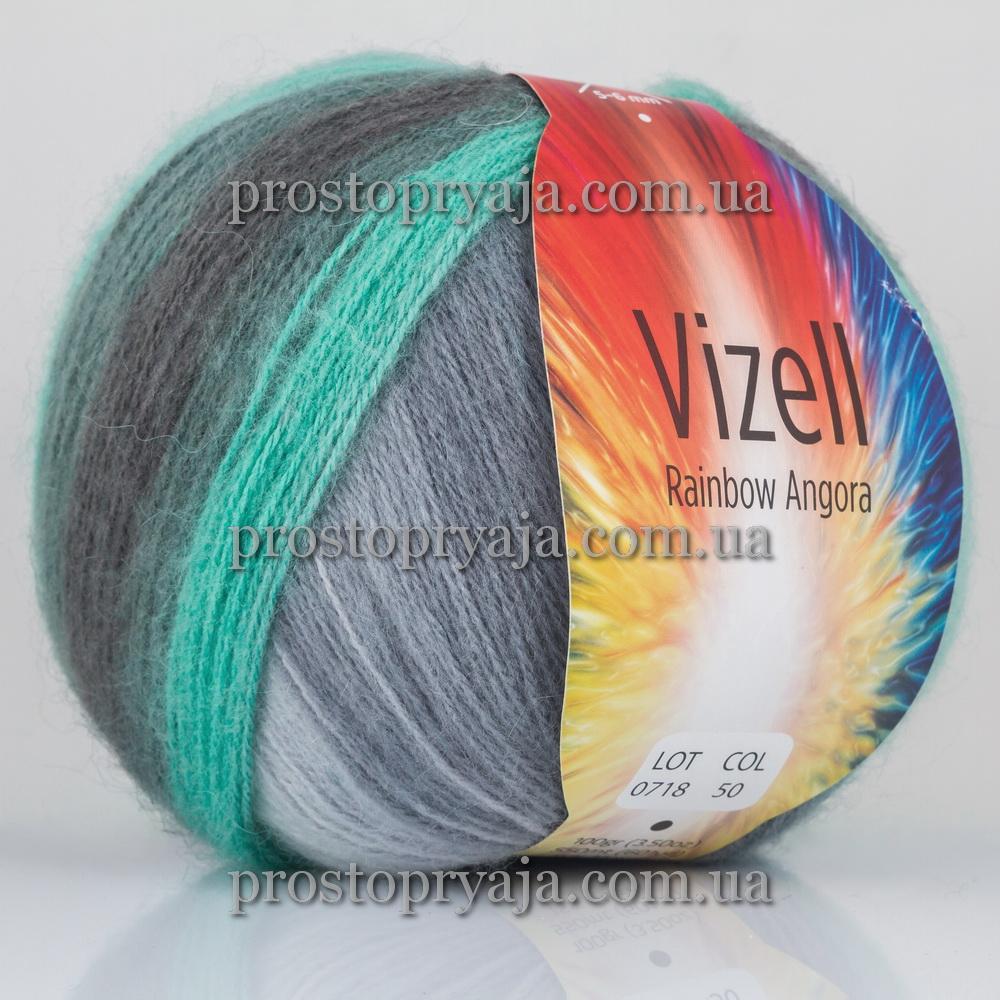 Vizell Rainbow Angora интернет магазин пряжи для вязания просто